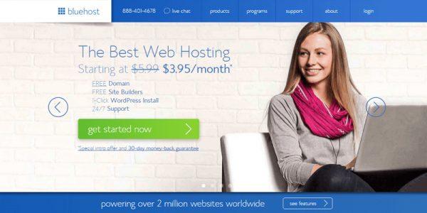 bluehost company  - مجلة ووردبريس