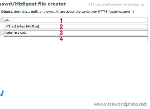 generate password  - مجلة ووردبريس
